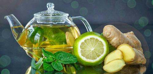 Корень имбиря с лимоном для похудения