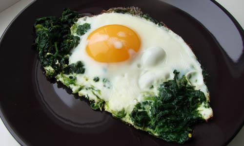 Можно ли есть яичницу на ужин