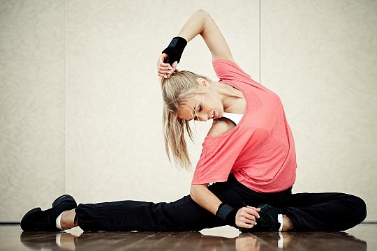 тренировки во время месячных стретчинг